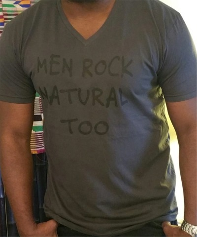Men Rock Natural Too Tee