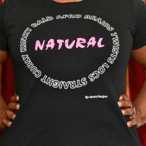 Natural Circle Tee by Asista Designs - Shop Natural Hair T Shirts